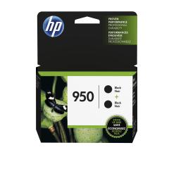 HP 950 Black Original Ink Cartridges, Pack Of 2 (L0S28AN)