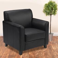 Flash Furniture Hercules Diplomat Bonded LeatherSoft™ Chair, Black