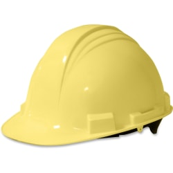 NORTH Peak A59 HDPE Shell Adjustable Hard Hat, Yellow
