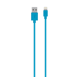 Belkin® Lightning/USB ChargeSync Cable For Apple® iPhone® 5, iPad® And iPod®, Blue