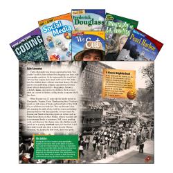 Teacher Created Materials TIME Informational Text Set, Set 2, Grade 8, Set Of 6 Books