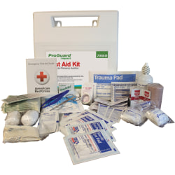 "Impact Products 50-person First Aid Kit - 50 x Individual(s) - 11"" Height x 11"" Width x 1"" Length - Plastic Case - 1 Each"