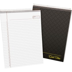 Ampad Gold Fibre Classic Wirebound Legal Pads, Letter Size, 70 Sheets, Brown