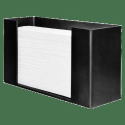 Genuine Joe Paper Towel Dispenser, Black
