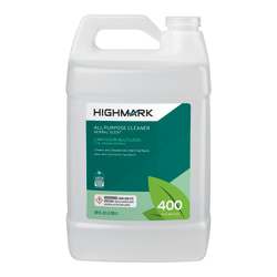 Highmark® All-Purpose Cleaner, Herbal Scent, 128 Oz, Case Of 4