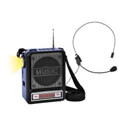 Technical Pro WASP100 Wireless Amplifier Speaker, Blue