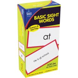 Carson-Dellosa Flash Cards — Basic Sight Words