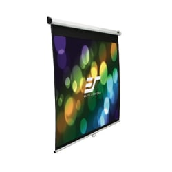 """Elite Screen Manual Wall And Ceiling Projection Screen, 120"""", M120UWV2"""