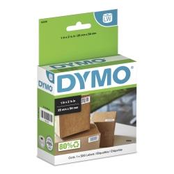 "DYMO® LabelWriter® Multipurpose Labels, 30336, 1"" x 2 1/8"", White, Box Of 500"