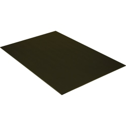 "Pacon Economy Foam Boards, 30"" x 20"", Black, Pack Of 10"