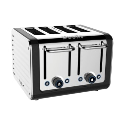 Dualit® Design Series Extra-Wide-Slot Toaster, 4-Slice, Chrome