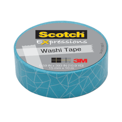 "Scotch® Expressions Washi Tape, 5/8"" x 393"", Cracked"