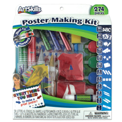 ArtSkills® 40% Recycled Poster-Making Kit