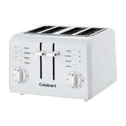 Cuisinart® 4-Slice Wide-Slot Toaster, White