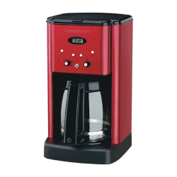 Cuisinart® Brew Central 12-Cup Programmable Coffeemaker, Red