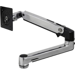 "Ergotron Mounting Arm for Flat Panel Display, Notebook - Silver - 2 Display(s) Supported32"" Screen Support - 25 lb Load Capacity"