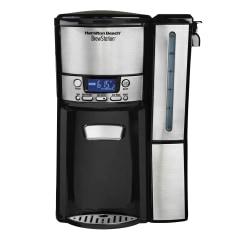 Hamilton Beach BrewStation 12 Cup Dispensing Coffeemaker (47950) - 12 Cup(s) - Multi-serve - Coffee Strength Setting - Timer - Black