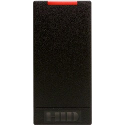 "HID iCLASS R10 6100C Smart Card Reader - Cable3.25"" Operating Range Black"