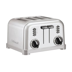Cuisinart® 4-Slice Toaster, Silver