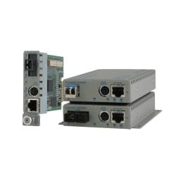 Omnitron Systems iConverter 8903N-1-B Network Media Converter - 1 x Network (RJ-45) - 1 x SC Ports - 10/100Base-TX, 100Base-FX - External