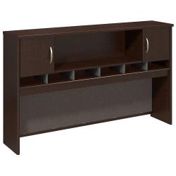 "Bush Business Furniture Components 2-Door Hutch, 72""W, Mocha Cherry, Standard Delivery"