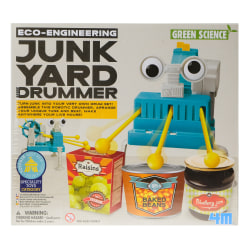 4M Green Science Junk Yard Drummer Robotics Kit