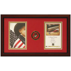 """Timeless Frames® American Moments Military Collage Frame, 8"""" x 15"""", Marine Corps"""