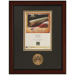 """Timeless Frames® American Moments Military Frame, 9"""" x 12"""", Army"""
