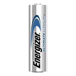 Energizer® Ultimate Lithium Batteries, AA, Pack Of 24, L91