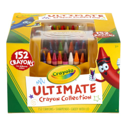 Crayola® Ultimate Crayon Case, Assorted Colors, Pack Of 152