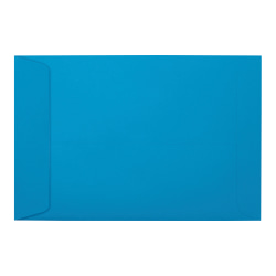 """LUX Open-End Envelopes With Peel & Press Closure, #6 1/2, 6"""" x 9"""", Pool, Pack Of 50"""