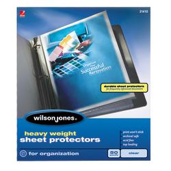 Wilson Jones Top Loading Sheet