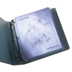 Wilson Jones® Top-Loading Sheet Protectors, Economy-Weight, Semi-Clear, Box Of 50