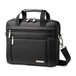 "Samsonite Classic Carrying Case for 10.1"" Netbook - Black - Nylon - Handle, Shoulder Strap - 9.5"" Height x 11.5"" Width x 2"" Depth"