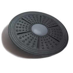 """Black Mountain Products Balance Trainer Wobble Board, 16"""", Black"""