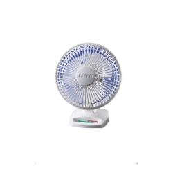 Freestanding Desk Fan, White
