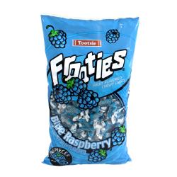 Tootsie Frooties, Blue Raspberry, 360 Pieces