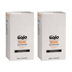 GOJO® Natural Orange Pumice Lotion Hand Soap Cleaner, Citrus Scent, 169.07 Oz Bottle