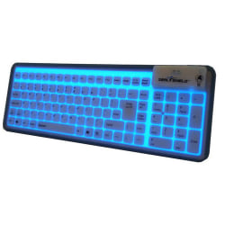 Seal Shield Seal Glow USB Keyboard, Black, S106G2