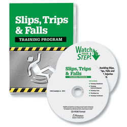 ComplyRight Slip, Trips And Falls DVD/CD-ROM Training Kit