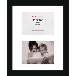 """PTM Images Photo Frame, Collage, 11""""H x 14""""W, Black"""