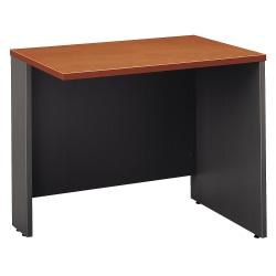"""Bush Business Furniture Components Return Bridge, 36""""W, Auburn Maple/Graphite Gray, Standard Delivery"""