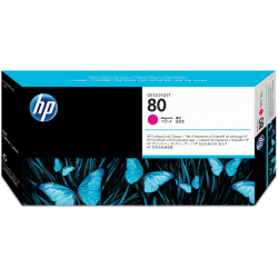 HP C4822A, Magenta Inkjet Printhead And Printhead Cleaner