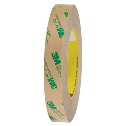 "3M™ 467MP Adhesive Transfer Tape, 3"" Core, 0.75"" x 60 Yd., Clear, Case Of 6"
