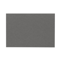 """LUX Flat Cards, A9, 5 1/2"""" x 8 1/2"""", Smoke Gray, Pack Of 250"""