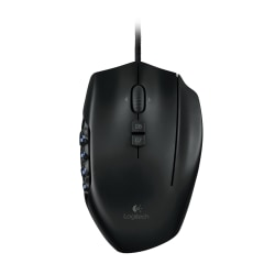 Logitech® G600 MMO Gaming Mouse, Black, PB2056