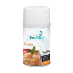 TimeMist Metered Dispenser Fragrance Spray Refill - Spray - 6000 ft³ - 6.6 fl oz (0.2 quart) - Caribbean Waters - 30 Day - 12 / Carton - Long Lasting, Odor Neutralizer