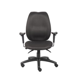 Boss Fabric High-Back Task Chair, Black