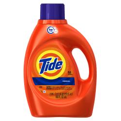 Tide HE Liquid Laundry Detergent, Original Scent, 3.1 Qt, Case Of 4