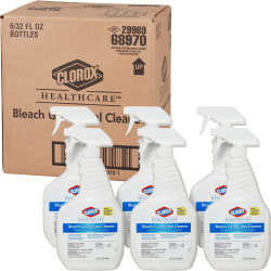 Caltech Dispatch Hospital Cleaner/Disinfectant, 1 Quart, Trigger Spray Bottle, Case Of 6